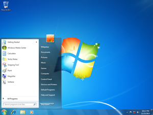 Windows 7 Screen