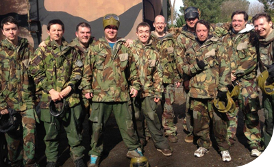 Tech Team Action Paintball