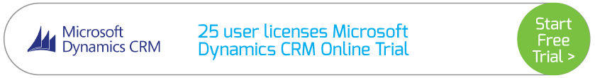 25 user licenses Microsoft Dynamics CRM Online Trial