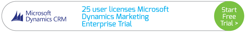25 user licenses Microsoft Dynamics Marketing Enterprise Trial
