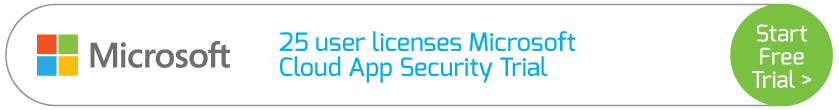 25 user licenses Microsoft Cloud App Security Trial
