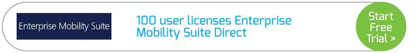 100 user licenses Enterprise Mobility Suite Direct