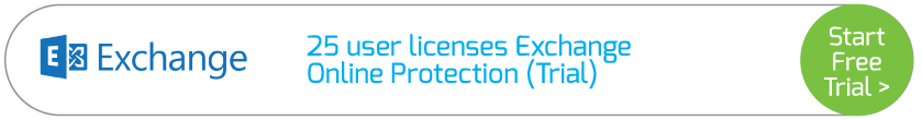 25 user licenses Exchange Online Protection (Trial)
