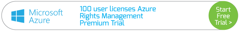 100 user licenses Azure Rights Management Premium Trial