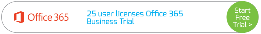25 user licenses Office 365 Business Trial