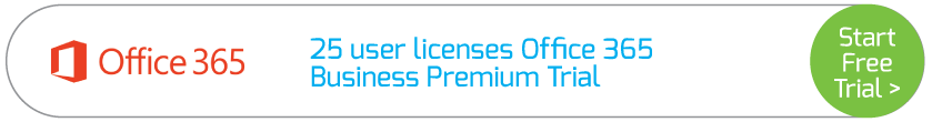 25 user licenses Office 365 Business Premium Trial
