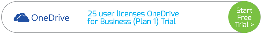 25 user licenses OneDrive for Business (Plan 1) Trial