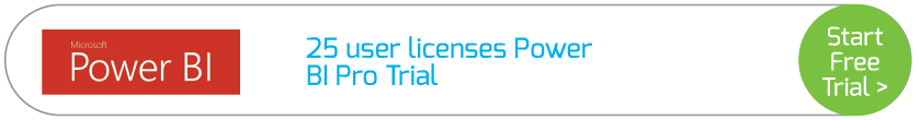 25 user licenses Power BI Pro Trial