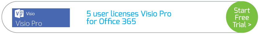 5 user licenses Visio Pro for Office 365